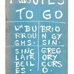Demian-Antiquariaat-Minutes-to-go-Burroughs
